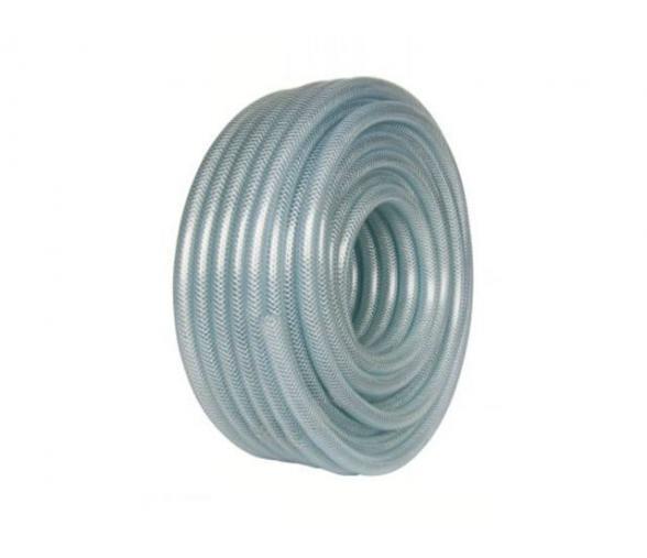 Tube PVC tressé Ø10 int./16 ext. Translucide (au ml)