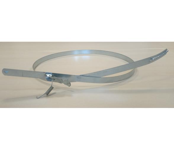 Sangle de fixation métallique pour manche et sac d'aspiration Diam.500mm